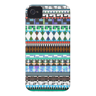 Turquoise Tribal Case-Mate iPhone 4 Case