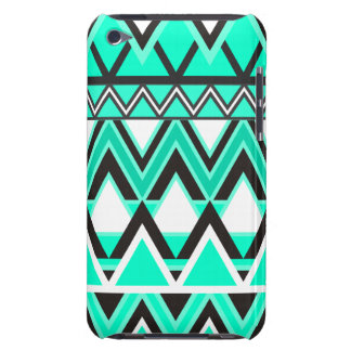 Turquoise Tribal Pattern iPod Touch Cases
