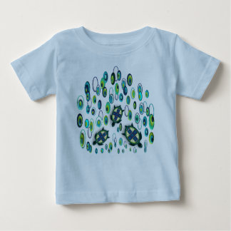 turquoise turtle 37 baby T-Shirt