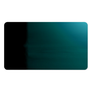 Turquoise Unusual Visual Identifiers Biz Card Pack Of Standard Business Cards