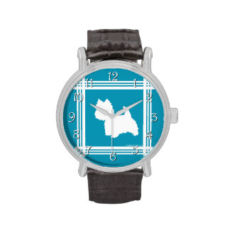 Turquoise Westies Watch