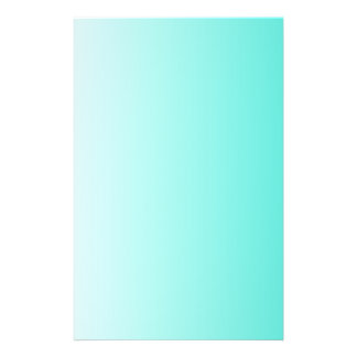 Turquoise White Ombre Flyer