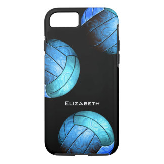 turquoise women's volleyball iPhone 8/7 case
