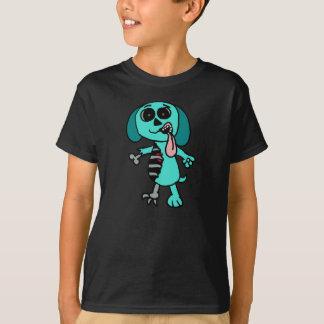 Turquoise Zombie Dog shirt