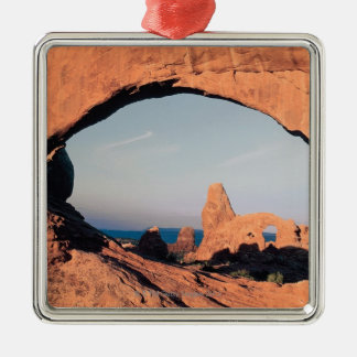 Turret arch , Arches National Park , Utah Christmas Ornament