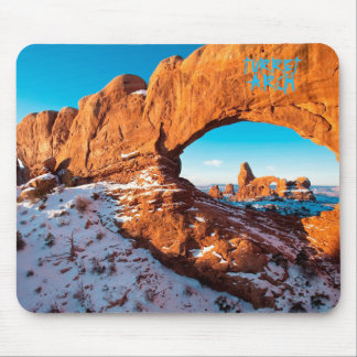 Turret Arch Mouse Pad