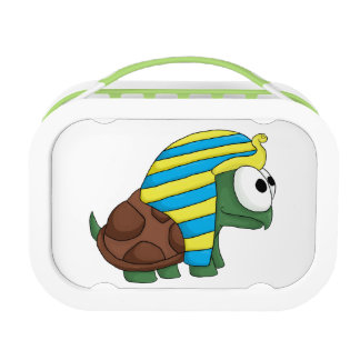 Turtankhamun cute Egyptian turtle design Lunch Box