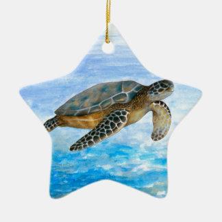 Turtle 1 christmas ornament
