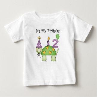 Turtle 2nd Birthday Baby T-Shirt