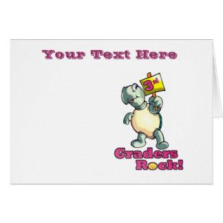 """Turtle """"3rd Graders Rock""""  Design Cards"""