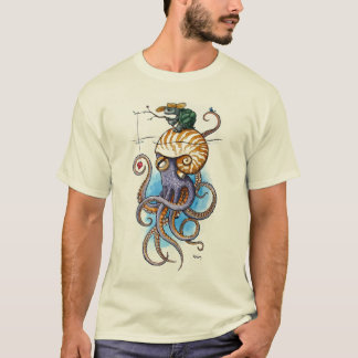 Turtle and Octopus T-Shirt