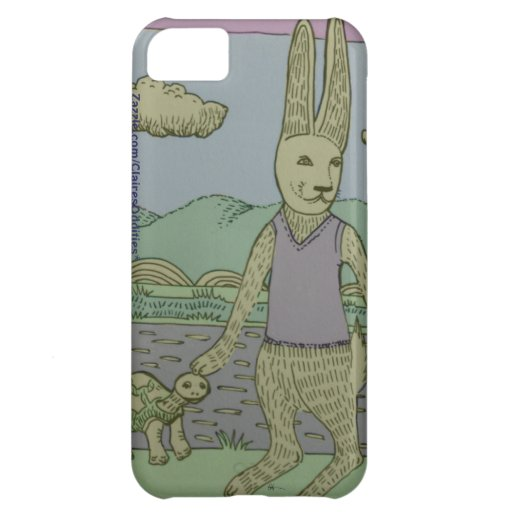 Turtle and Rabbit iPhone 5 Case
