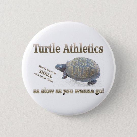 Turtle Athletics 6 Cm Round Badge