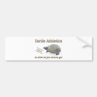 Turtle Athletics Bumper Sticker