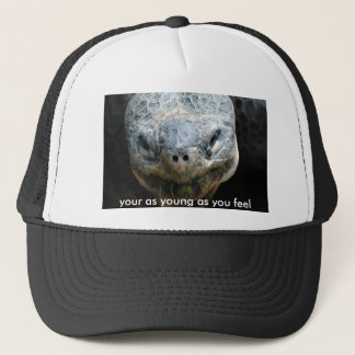 turtle-b3a[1], your as young as you feel trucker hat