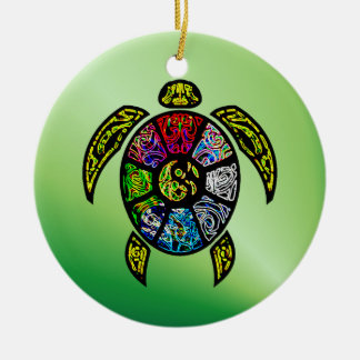 Turtle Ba-Gua Christmas Ornament