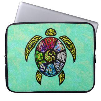 Turtle Ba-Gua Laptop Sleeve