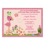TURTLE Baby Shower Invitation Once Upon a Pond OUP