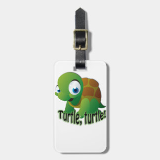 Turtle! Bag Tag