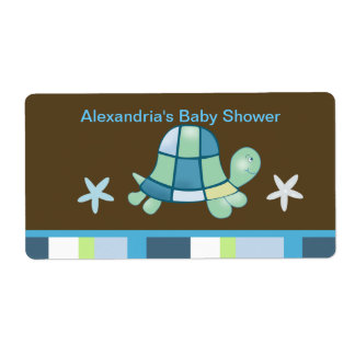 Turtle Bay (Modern Brown)  Water bottle sticker