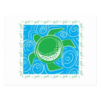 Turtle Beach Golf Postcard