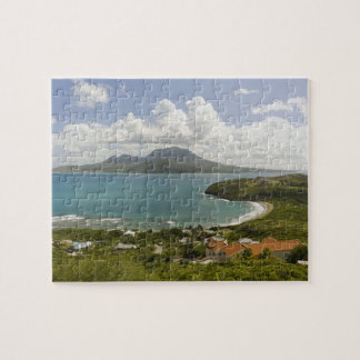 Turtle Beach, southeast peninsula, St Kitts, Jigsaw Puzzle