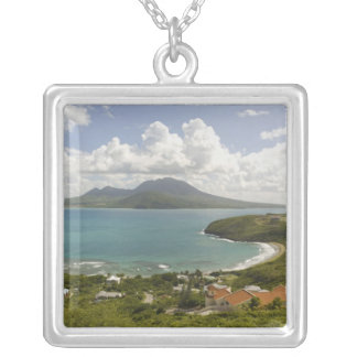 Turtle Beach, southeast peninsula, St Kitts, Silver Plated Necklace