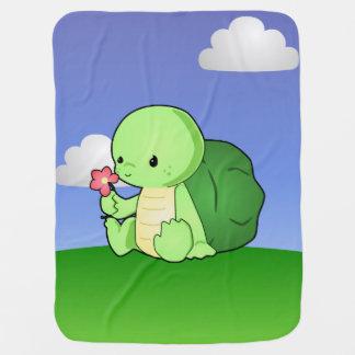 Turtle Blanket Baby Blanket