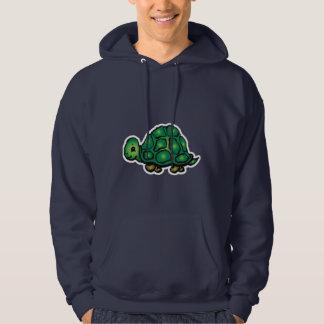 Turtle; Blue Hoodie