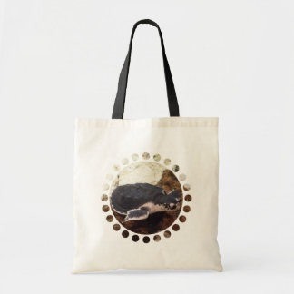 Turtle Budget Tote Bag