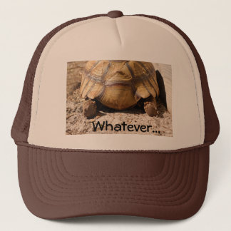 Turtle Butt Design Trucker Hat
