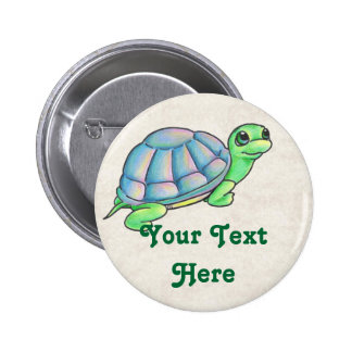 Turtle Buttons Template