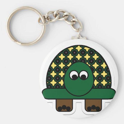 Turtle Cartoon Art Key Chain