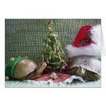 Turtle Christmas Greeting Card