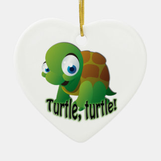 Turtle! Christmas Ornament