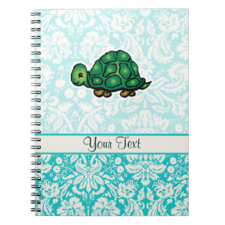 Turtle; Cute Spiral Notebooks