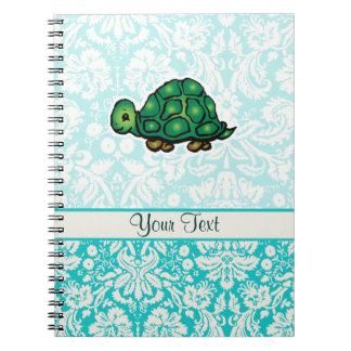 Turtle Cute Spiral Notebooks