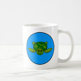 Turtle design coffee mug