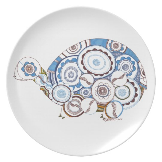 Turtle dinner plate