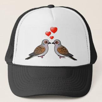 Turtle Doves in Love Trucker Hat