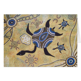 Turtle Dreaming Card with Dreamtime Story