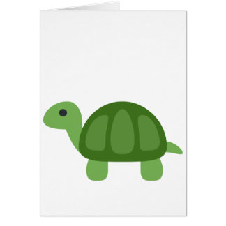 Turtle Emoji Card