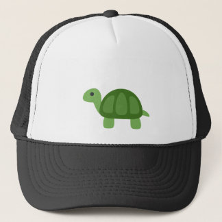 Turtle Emoji Trucker Hat