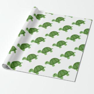 Turtle Emoji Wrapping Paper
