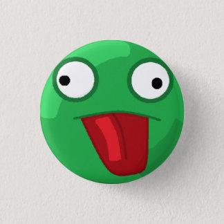 Turtle Face! 3 Cm Round Badge