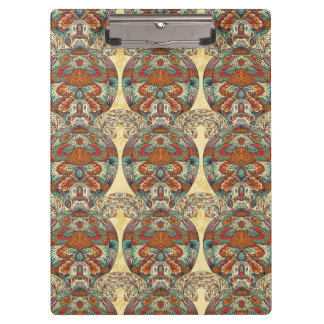 Turtle Floral Pattern Clipboard