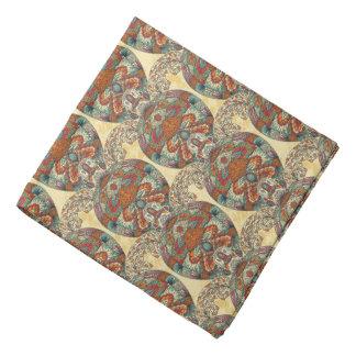 Turtle Floral Pattern Do-rag