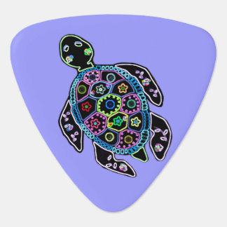 Turtle Glow Guitar Pick
