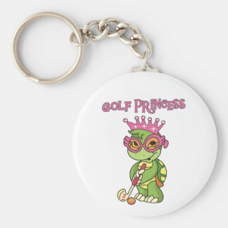 Turtle Golf Princess T-shirts and Gifts Key Chains