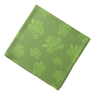 Turtle Green Graphic Bandannas